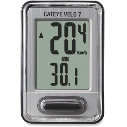 Fitness This CatEye CC-VL520 Velo 7 wired bike computer keeps it simple, offering easy access to basic ride data. - $25.00