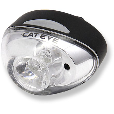Fitness Light up your nighttime rides with the CatEye Rapid 1 TL-LD611 Front Bike Light; with LED bulbs and a rechargeable battery, it's a safe bet this light will be a trusty companion for years of cycling. - $11.93