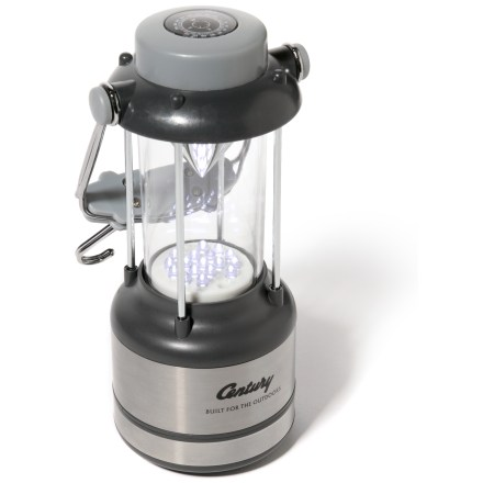 Camp and Hike Lightweight and easy to carry, this LED lantern gives you bright, white light both indoors and out. - $15.93