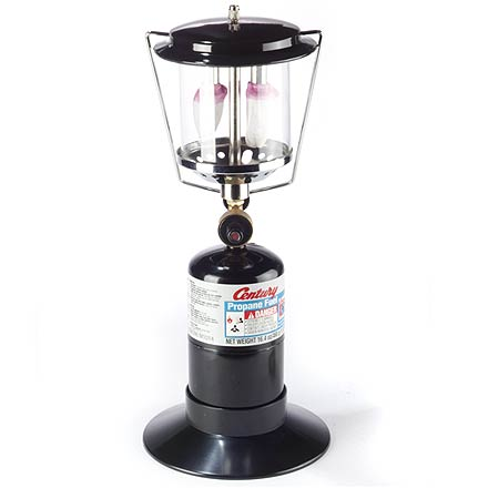 Camp and Hike Maintain the still of the night--this propane lantern offers quiet, flicker-free performance. - $17.93
