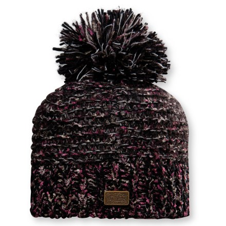 Ski The Chaos Finly beanie features a cute, warm knit that's sure to please. Polyester/nylon blend fabric is warm and soft. Special buy. - $9.83