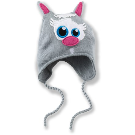 Entertainment Dress them up in the Chaos Animal Helmet hat when headed into the cold. Fun designs feature an animal face and ears. Soft acrylic provides the warmth of wool without the itch, and it dries quickly. Special buy. - $7.83