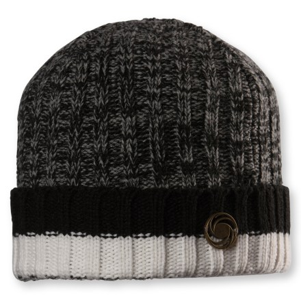 Ski The Chaos Prescott beanie warms your head during cold-weather outings. Warm, breathable acrylic/wool construction is comfortable and easy to care for. Closeout. - $9.93