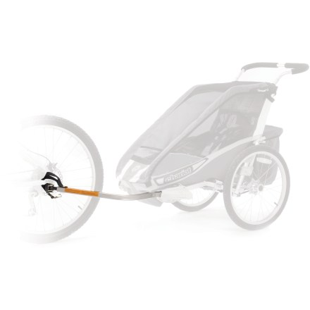 Fitness This kit converts your Chariot Carriers Cougar, CX, Cabriolet and Cheetah Chassis (sold separately) into a bike trailer. - $47.93