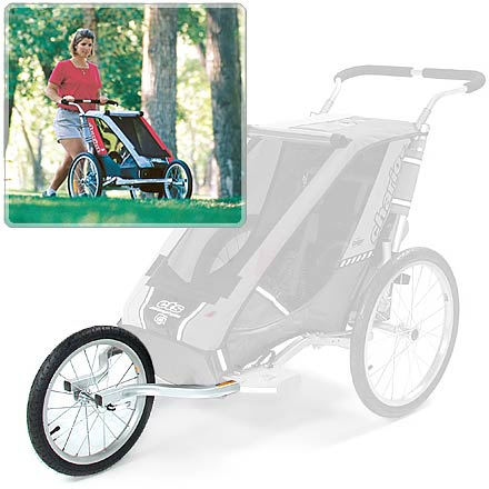 Fitness This kit converts your Chariot Carriers Cougar 1 Chassis (sold separately) into a baby jogger. - $49.83