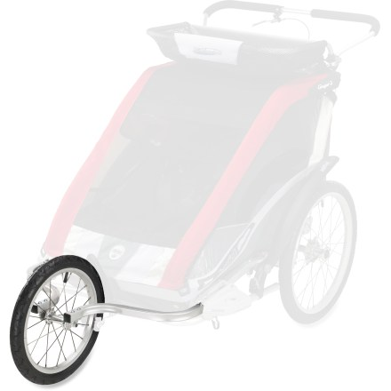 Fitness This kit converts your Chariot Carriers Cougar 2 chassis and Cheetah 2 chassis (sold separately) into a baby jogger. - $49.83