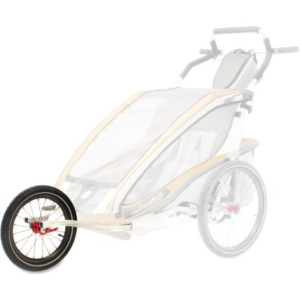 Fitness This kit converts your Chariot Carriers CX 2 Chassis (sold separately) into a high-performance jogger and all-terrain stroller. - $61.93