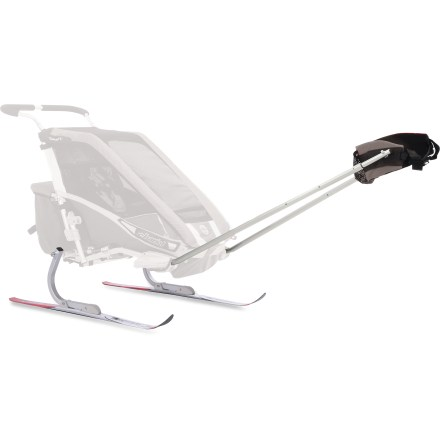 Ski The Chariot Carriers XC Ski kit converts your Chariot carrier system for use on cross-country ski trails. Strap on your skis, bundle up your little one and head out for wintertime adventures. - $177.93