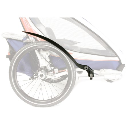 Fitness These side fenders easily attach to your Chariot Carrier's VersaWing(TM) 2.0 to help keep dirt and debris away from your carrier and off of you. - $37.83