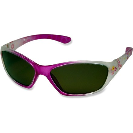 Entertainment Chili's Ziggy polarized sunglasses for kids provide excellent glare protection! It's never too early to start them off on smart habits, and wearing sunglasses is just one. - $9.93