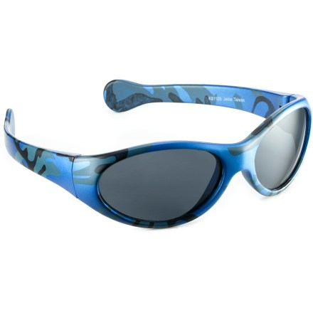 Entertainment The Chili's Jellie polarized sunglasses are designed to let kids start smart habits early. - $12.95