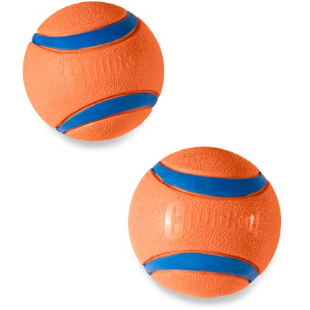 Camp and Hike Heighten Rover's playtime fun with Ultra Fetch Balls. They bounce higher, float better and last longer than other balls used for fetch! - $11.00