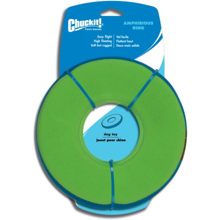 Camp and Hike Fling the Chuckit! Zipflight dog toy and watch it come back to you in tail-wagging good speed! - $14.00