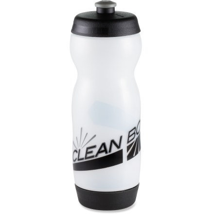 Fitness The clever Clean Bottle lets you easily access both ends of the bottle for quick, thorough cleaning! - $7.93