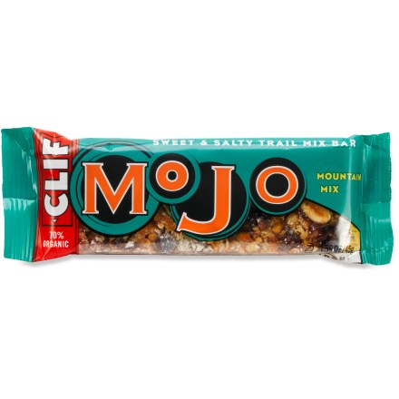 Camp and Hike Here's the next generation of Clif Bars--Mojo natural snack bars are ready for travel and trail! - $1.50