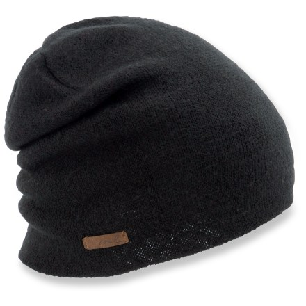 Entertainment The Coal Julietta beanie has a modern look and fit to keep you in style. Acrylic yarn mimics soft cashmere for excellent comfort next to skin. - $13.93