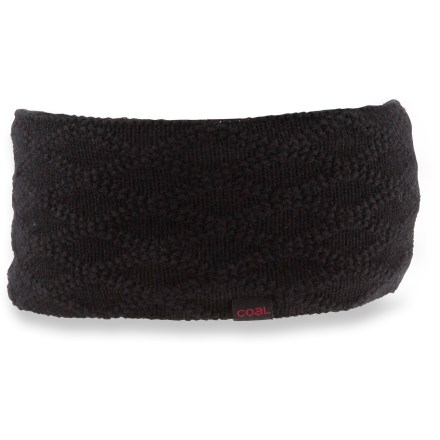 Protect your ears from the nip of winter with the Coal Ellis headband. Fine merino wool is backed with soft polyester fleece for excellent warmth and comfort. - $16.93
