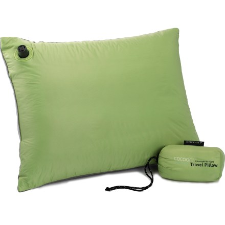 Camp and Hike Brimming with light, soft support, this inflatable pillow offers the ultimate in packable comfort. - $25.95