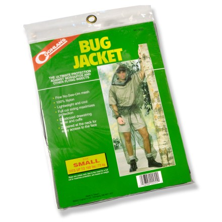 Camp and Hike This Bug Jacket from Coghlan's offers chemical-free, lotion-free relief from those pesky flying insects. - $15.50