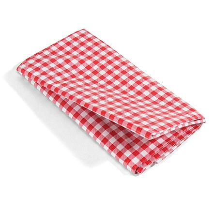 Camp and Hike No telling who, or what was the last to dine at your picnic table--this travel-ready cloth ensures a clean table every time. - $5.50