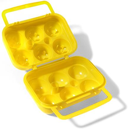 Camp and Hike Carry along some eggs with the Coghlan's 6-Egg holder and whip up a breakfast feast the next time you're car camping or backpacking. - $3.25