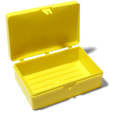 Camp and Hike Hinged plastic box keeps that bar of soap at hand and separate from other items in your kit. - $1.95