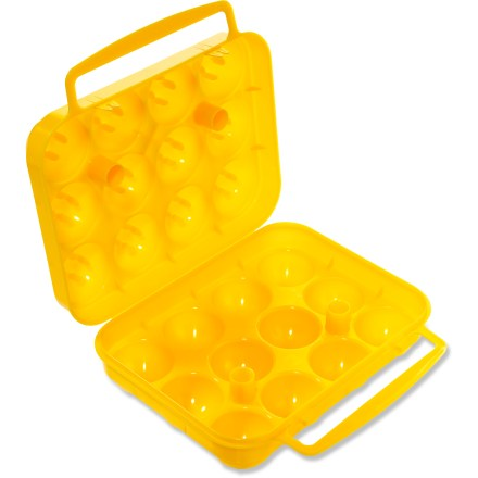Camp and Hike Carry a dozen eggs with the Coghlan's 12-Egg holder and whip up a breakfast feast the next time you're car camping or backpacking. - $4.25
