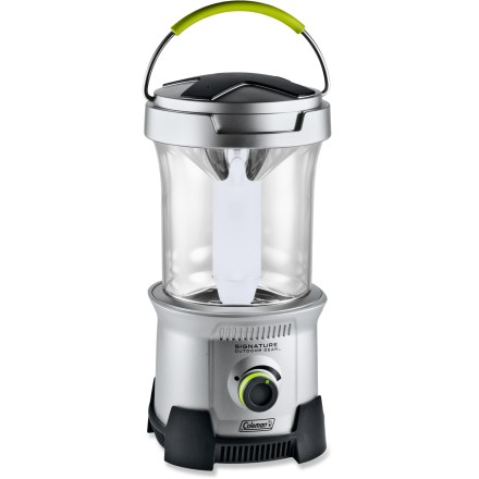 Camp and Hike The Coleman Signature High Tech CPX lantern lights up your campsite so you can keep having fun without the sun. - $33.93