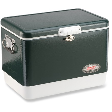 Camp and Hike They do make things like they used to!  The Coleman Steel Belted(R) cooler has the same great performance as the original from 1954. - $109.95