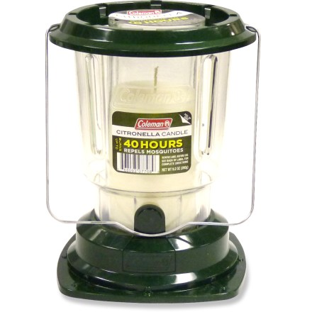 Camp and Hike Light up the Coleman Citronella Candle lantern at your next backyard barbecue or family camping trip. It'll add ambiance and help keep the bugs away. - $7.93