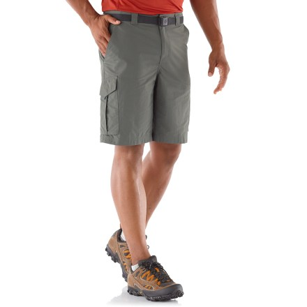 Camp and Hike Mile after mile, the Columbia Silver Ridge(TM) cargo shorts will keep you comfortable as you make your way down the trail. - $45.00