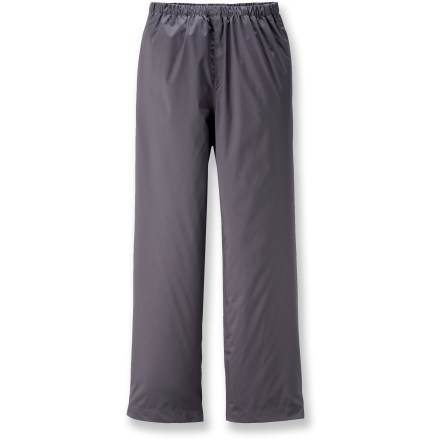 The Columbia Sportswear Trail Adventure rain pants are perfect for swishing past wet grass along the trail or splashing through puddles on the way to school. - $36.00