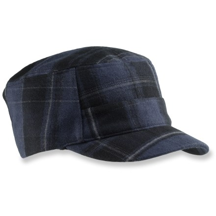 Entertainment The Columbia Prospect Station cap offers a miltiary-inspired fit that will keep you looking great. Omni-Shield(R) fabric sheds rain and stains; cotton lining is soft again skin. Adjustable buckle for a custom fit. Closeout. - $6.73