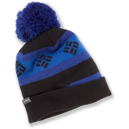 Ski The Columbia Alpine Run beanie offers warmth and versatility in a soft acrylic knit. Acrylic wicks moisture away and dries quickly. Closeout. - $5.73