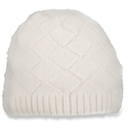 Ski When you're chasing big views, this Columbia Zenith Vista beanie keeps you warm on the journey up. Beautiful angora is blended with nylon and wool for soft, luxurious warmth. 1 size fits most. Closeout. - $21.73