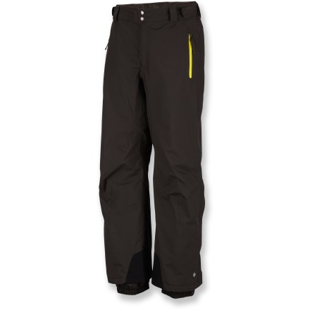 Ski The Columbia Chiliwack shell pants give you an edge in your winter endeavors with sturdy waterproof construction. - $76.83