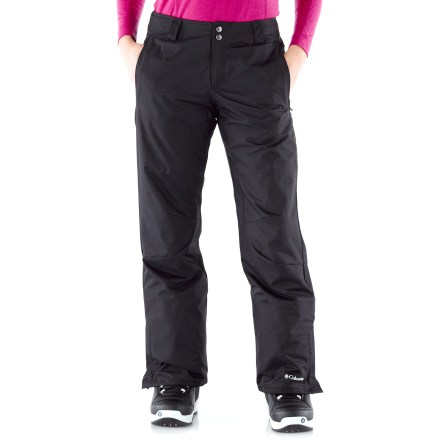 Ski The Columbia Sur Le Peak 2.0 insulated pants in women's plus sizes keep you where you want to be--in the mountains, on the snow, kicking up powder all the way down. - $64.83
