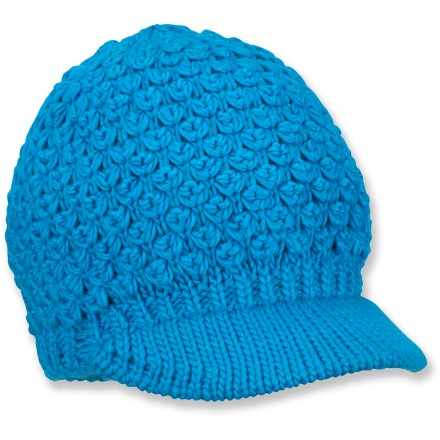 Entertainment This Columbia Zoller Peak cap will top his dome in cozy, handknit warmth. Soft acrylic offers lightweight warmth for snowy adventures. Precurved visor shields his face from winter rays and wayward snowflakes. Closeout. - $8.83