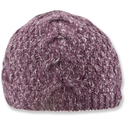 Ski Pair this Columbia Isabella Marie beanie with some googles and you'll be ready to tackle the backcountry. Mohair yarn, blended with acrylic and cotton, gives this cable-knit beanie a luxe look. Closeout. - $9.83