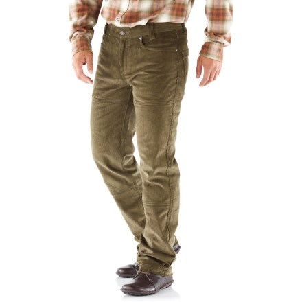 Casual adventures are made so much better with the comfortable Columbia Noble Falls Utility pants. Cotton corduroy fabric is blended with a dash of elastane for comfort throughout the day. Standard 5-pocket styling offers up plenty of space for stowing essentials. The Columbia Noble Falls Utility pants have a slim fit throughout. - $37.93