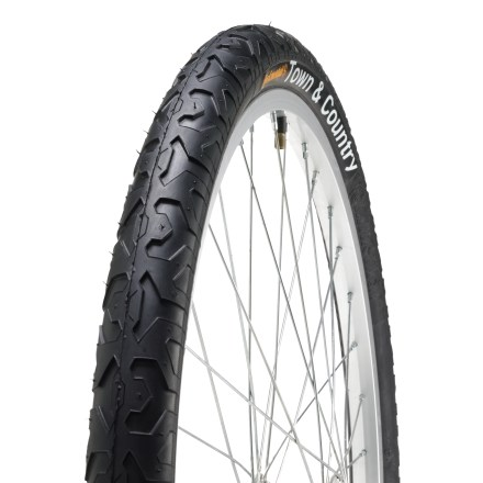Fitness For traction on less-than-perfect roads, the all-purpose Continental Town and Country tires are long wearing and built for stability. - $30.00
