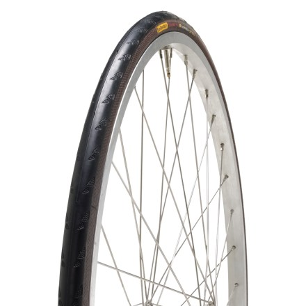 Fitness The Continental Ultra GatorSkin tire is a real long-distance runner. Use it on the way to work, as well as training for and riding in road races. This foldable version makes it easy to carry. - $55.00