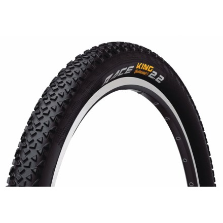 MTB The talented Continental Race King 2.2 tire wins races and performs well across a wide variety of cross-country terrain. - $21.93