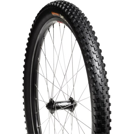MTB Continental X-King mountain bike tire supplies solid cross-country performance with low rolling resistance and confident grip on a variety of trail conditions. - $30.00