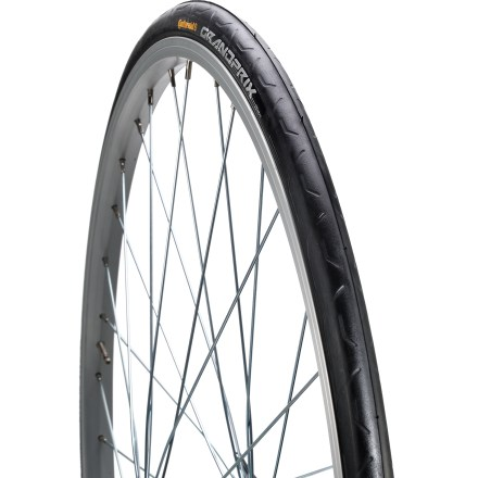Fitness Continental Grand Prix foldable clincher tire offers fast road performance, thanks to low rolling resistance, grippy rubber and good puncture protection! - $36.93