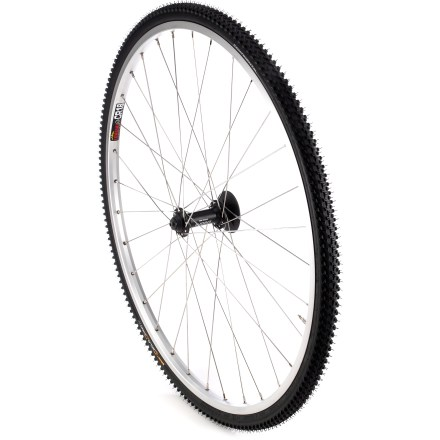 Fitness Continental Cyclo X King foldable bike tire features a versatile, fast-rolling tread pattern for cyclocross training and racing. - $39.93