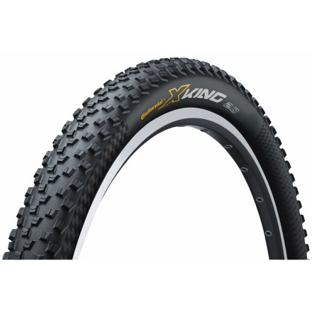 MTB The foldable Continental X-King mountain bike tire delivers solid all-around performance and value for your cross-country riding endeavors. - $26.93