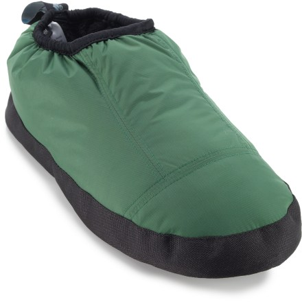 Camp and Hike Slip your feet into the Cordillera Down men's moccasins for coziness at the cabin or around the campsite. - $35.73