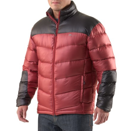 The Cordillera Cascade 800 Down jacket is packed with insulation to keep you toasty warm on the coldest days. Ripstop polyester fabric stands up to wear and tear. 800-fill-power down and feather insulation provides lightweight warmth that's highly compressible. Polyester lining easily slides over base layer. The Cordillera Cascade 800 Down jacket features zippered handwarmer pockets and a drawcord hem. Special buy. - $88.83