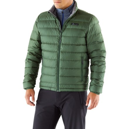 For the cold months, the Cordillera Aiguille down sweater offers exceptional warmth and comfort. - $139.73